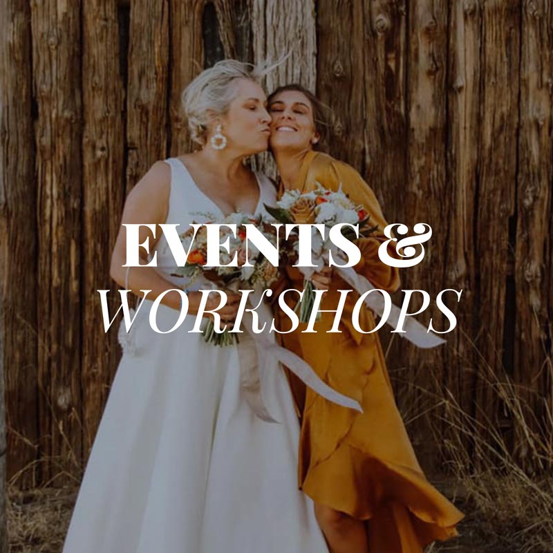 Functions, Weddings and Workshops at The Barn